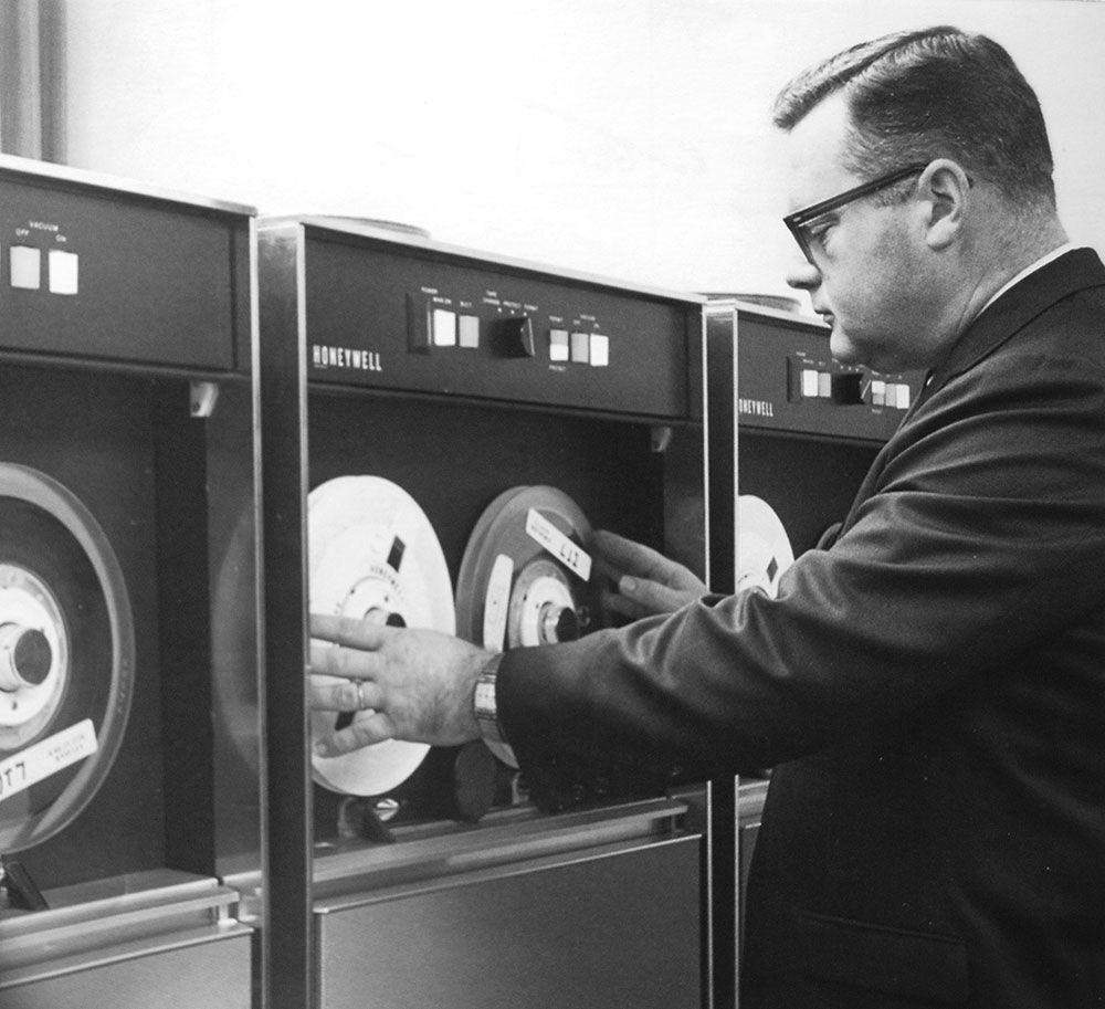 1968 honeywell equipment
