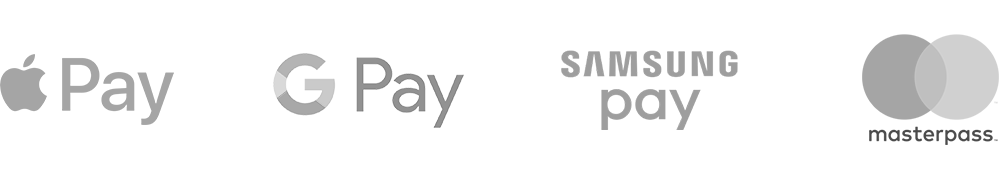 mobile wallet pay logos