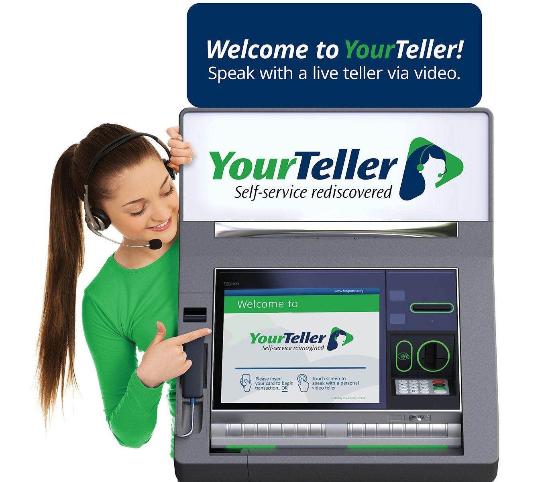 YourTeller interactive teller machine ITM