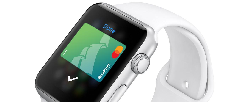 Apple watch BayPort debit card