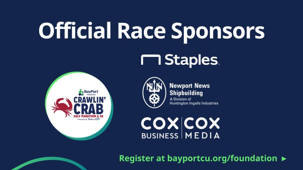 Crawlin Crab Race Sponsors