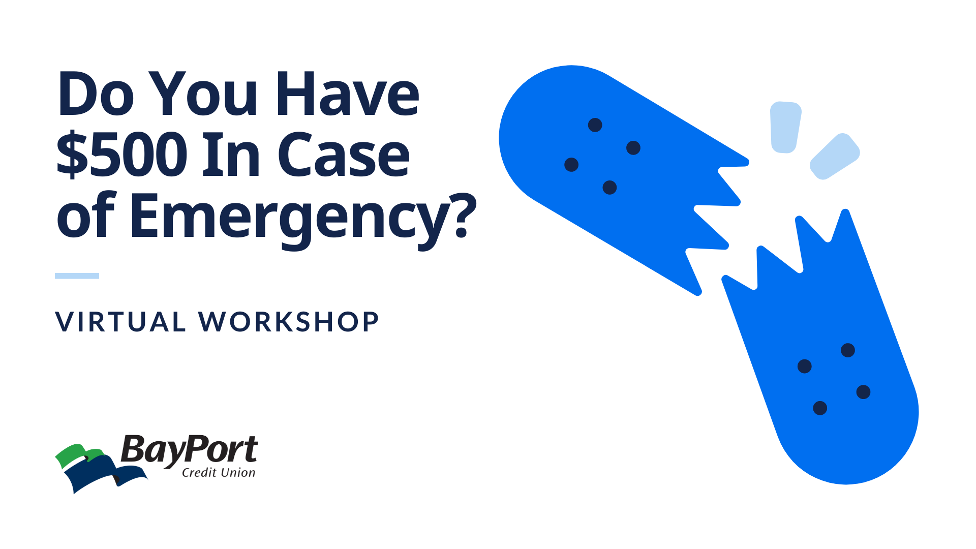 Do You Have $500 In Case of Emergency?